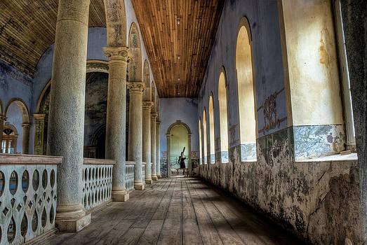 Inside Sao Jose das Tres Ilhas Church - Minas Gerais - Brazil by Igor Alecsander