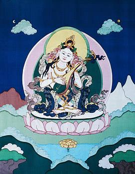 Saraswati by Leslie Rinchen-Wongmo