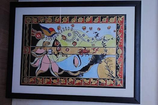 Sarwantaryami-shiva  by Ramesh Chandra