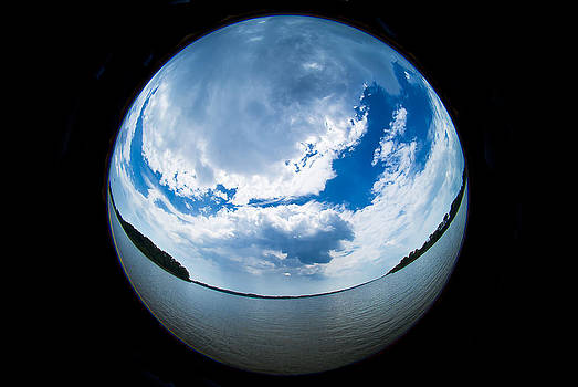 Sassafras River Sphere by Eleanor Ivins