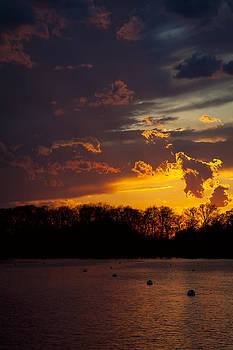 Saturday Night Sunset by Eleanor Ivins