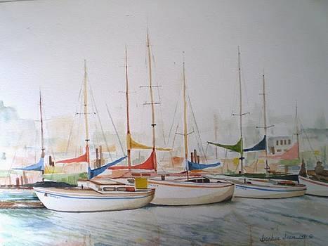 Sausalito Marina  by Barbra Joan