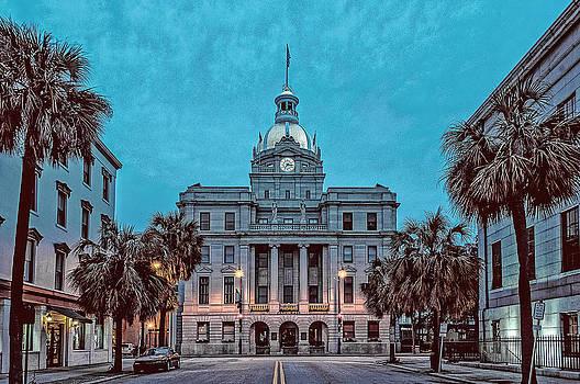 Savannah. Early morning. by Oleg Koryagin