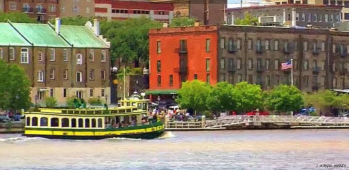 Savannah River Ride by J Morgan Massey