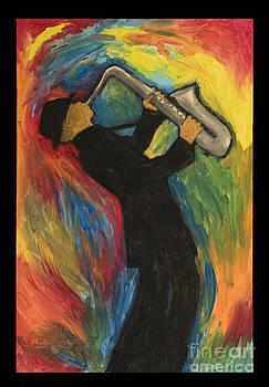 Sax Player by Elizabeth  Berg