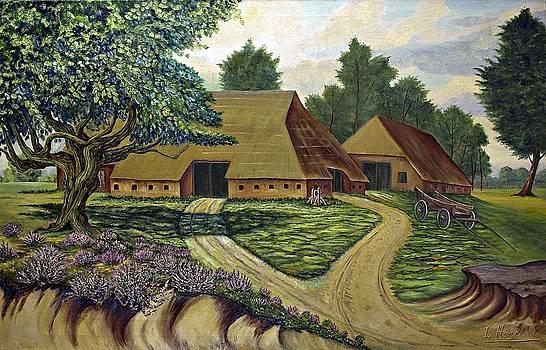 Saxon farmhouse by Andries Hartholt