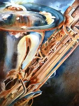 Saxophone by Donna MacLure