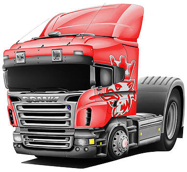 Scania Truck by Lyle Brown