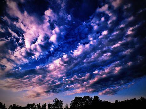 Scary sky by Slawek Sepko