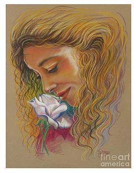 Scent of rose by Gina Pardo