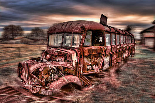School Bus by Donnie Bagwell
