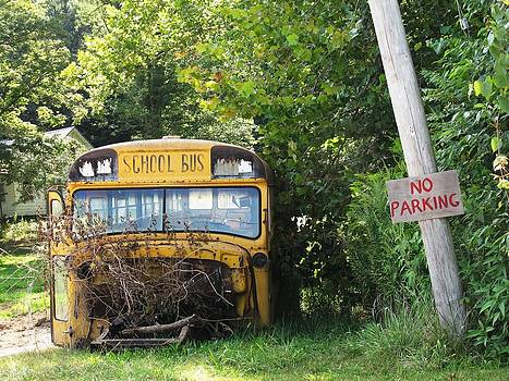 School Bus No Parking by Frank Chipasula