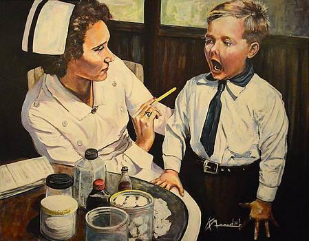 School Nurse by Kevin Meredith
