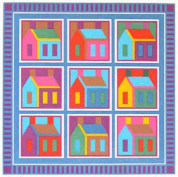 Schoolhouse by Carolyn Pomponio