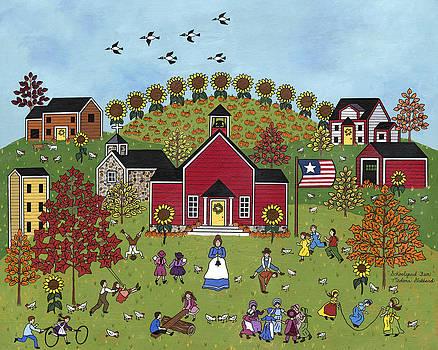 Schoolyard Fun by Medana Gabbard