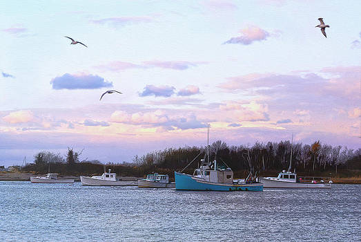 Scituate Harbor by Carol Sutherland