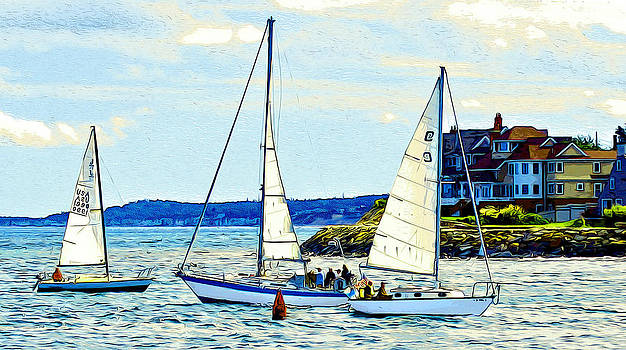 Scituate Sailors by Carol Sutherland