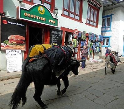Scottish Pub in Lukla by Pema Hou