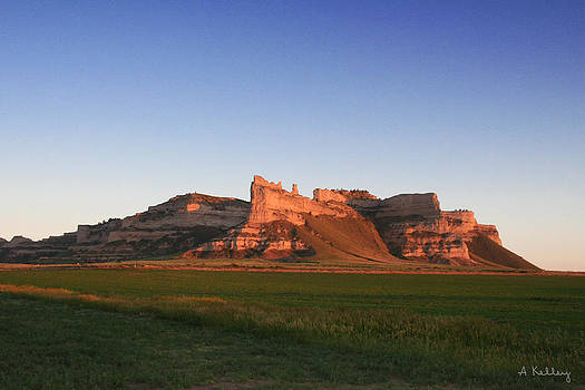 Scotts Bluff National Monument by Andrea Kelley