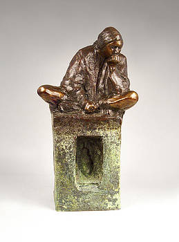 Sculptor's Muse by Mary Buckman