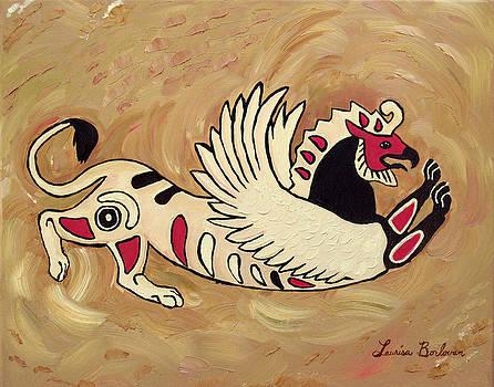 Scythian Gryphon Diptych by Laurisa Borlovan