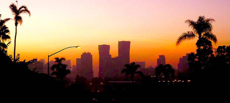 S.D. Red Skyline by William  Dorsett