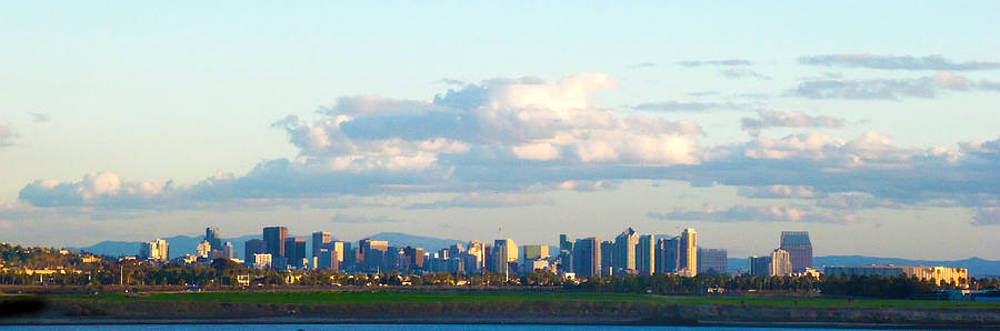 S.D. Skyline from a distance by William  Dorsett