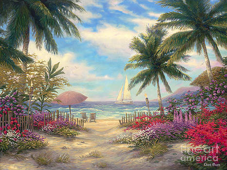 Sea Breeze Path by Chuck Pinson