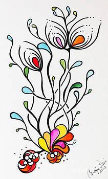 Sea Flowers by Carolyn Weir