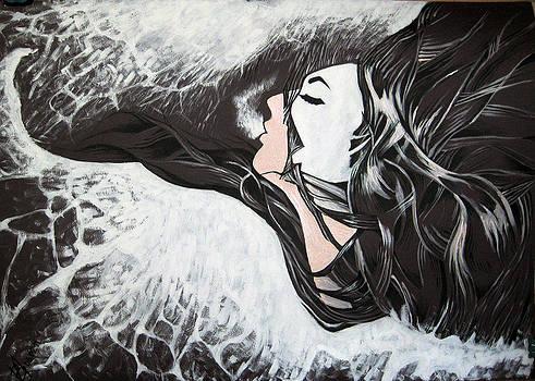 Sea foam by Verginiya Ivanova