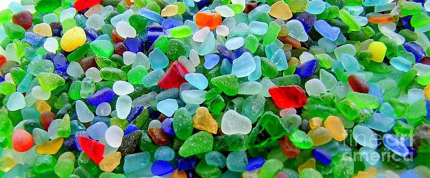 Mary Deal - Sea Glass Mural