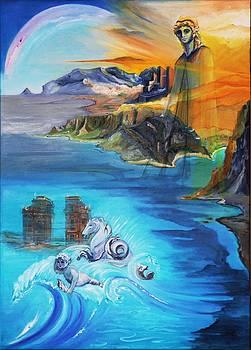 Sea Horse Fountain by Daniela Giordano