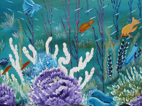 Sea Life by Beverly Livingstone