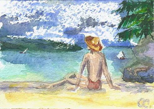 Sea resort card 1/6 by Olga Sergeeva