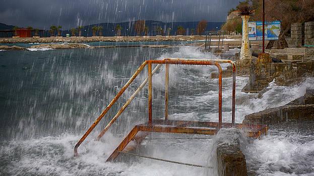 Sea Stairs by Mislav Glibota