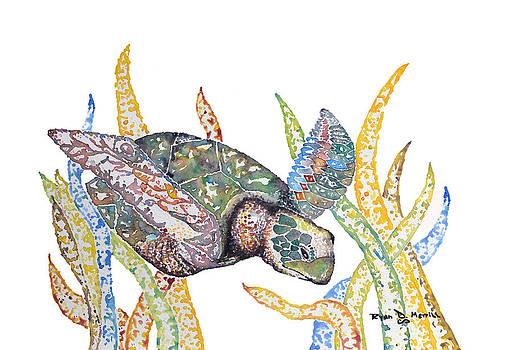 Sea Turtle by Ryan D Merrill
