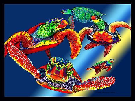 Sea Turtles by Pamela Shelton