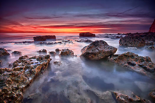 Seaford rock pool by Mark Leader