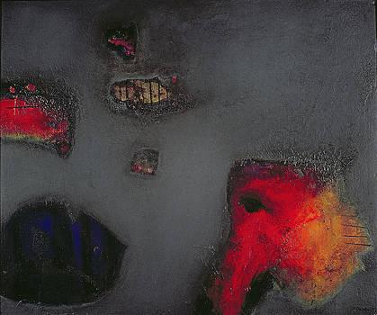 Jane Deakin - Seahorse, 1999 Oil On Canvas