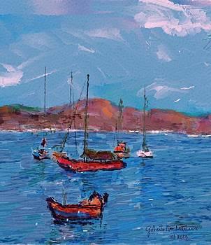 Seascape by Gilberto De Martino