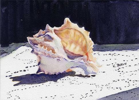 Seashell 2 by Katherine  Berlin