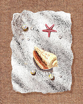 Irina Sztukowski - Seashell Pearls And Water Drops Collection
