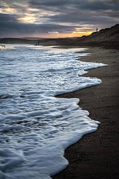 Seashore At Sunset by Michael Carter