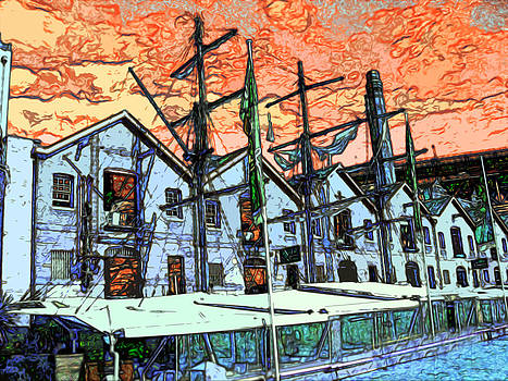 Seaside Docking by Gabriel Jeane