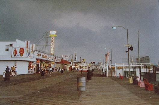 Seaside Heights Storm by Joann Renner