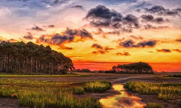 Seaside Sunrise by Michael Pickett