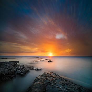 Larry Marshall - Seaside Sunset 2- Square
