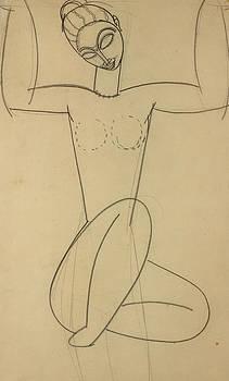 Amedeo Modigliani - Seated Caryatid
