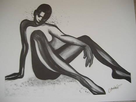 Seated Dancer by Carole Joyce