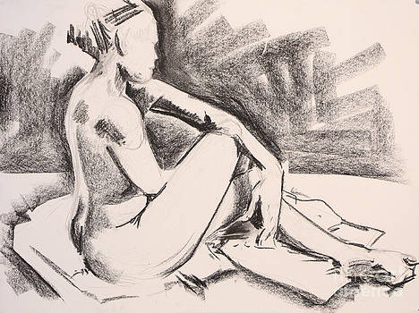 Seated Female Figure by James Strohmeyer